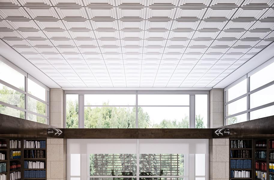 потолочные панели модульная система