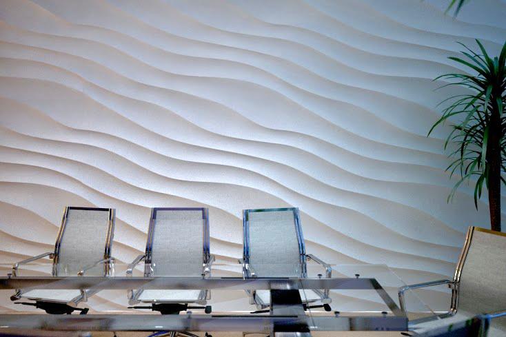 3d панели волны большие Dunа MAX