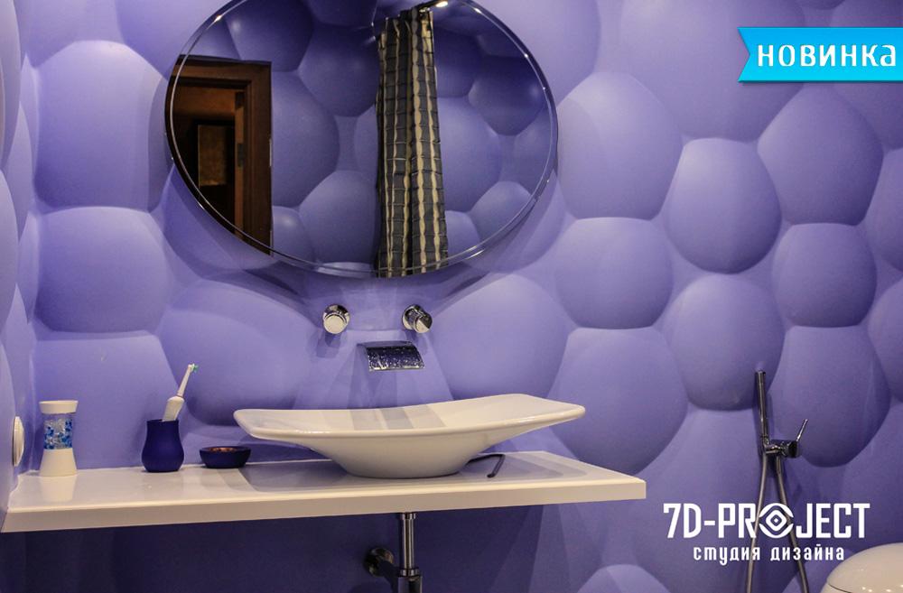 3d панели пузыри фото
