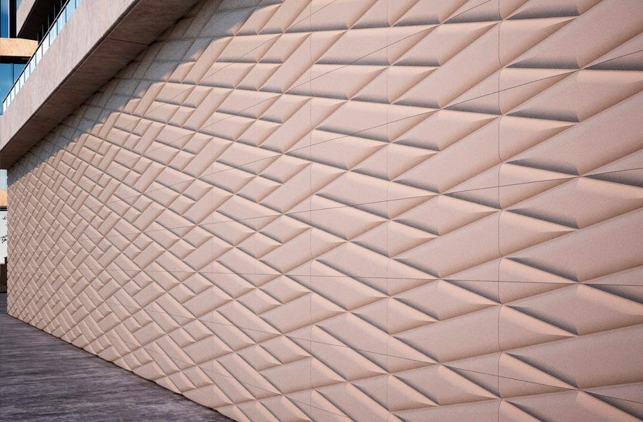 фасадная панель ROMBS