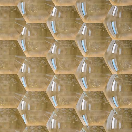 3d панели из гипса соты