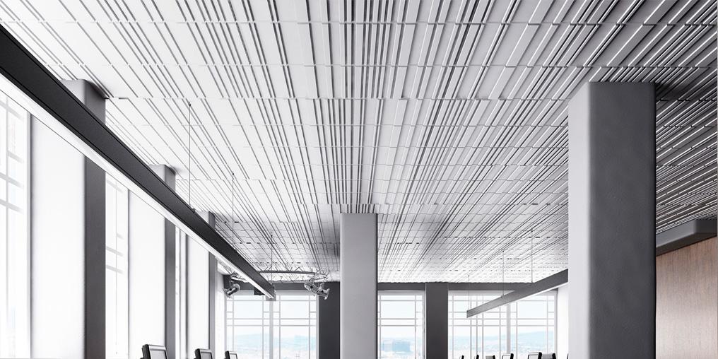 3д панели потолок